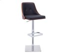 Braiden Adjustable Barstool - Onyx Product Image