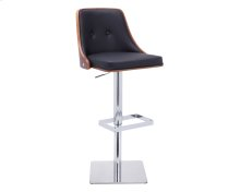 Braiden Adjustable Barstool - Onyx