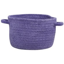 R. Purple Chenille Creations Basket
