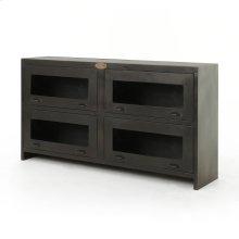 Rockwell Media Cabinet-antique Iron