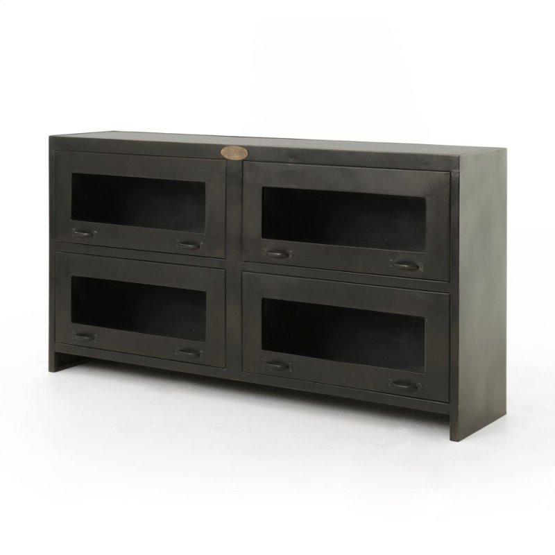 Rockwell Media Cabinet-antique Iron - IRCKMC214 In By Four Hands In Cleveland, OH - Rockwell Media Cabinet