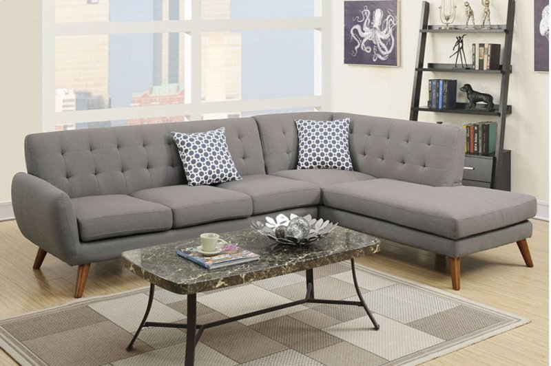 F6953 in by Poundex in Phoenix, AZ - 2-pcs Sectional Sofa