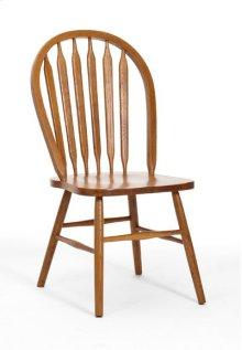 Classic Oak Plain Arrow Back Side Chair