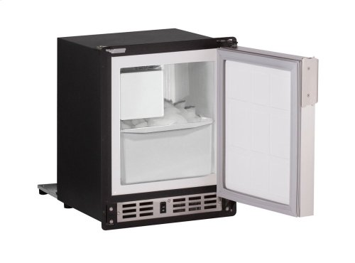 """Marine Series 15"""" Marine Crescent Ice Maker With White Solid Finish and Field Reversible Door Swing (220-240 Volts / 50 Hz)"""