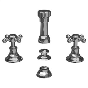 Satin Brass - PVD Bidet Set