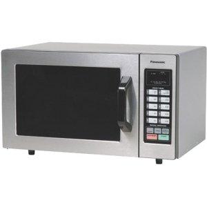 Panasonic1000 Watt Commercial Microwave Oven with 10 Programmable Memory NE-1054F