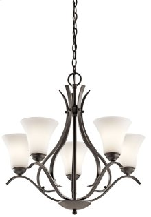 Keiran 5 Light Chandelier Olde Bronze®