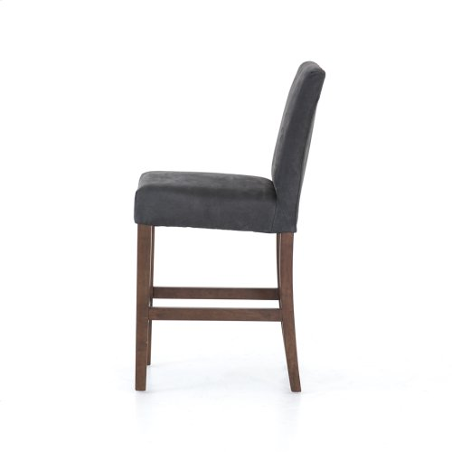 Counter Stool Size Umber Black Cover James Bar + Counter Stool