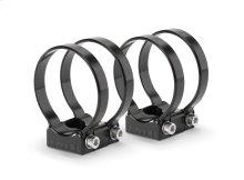 VeX Enclosed Speaker System Swivel Mount Fixture for pipe diameter of 2.625 in (66.7 mm)