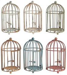 S/6 Brock Round Birdcages