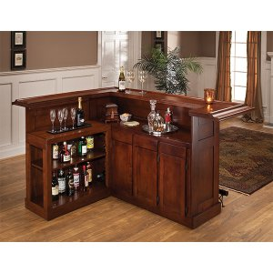 Hillsdale FurnitureClassic Brown Cherry Side Bar