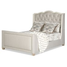 HARLOW - B13 QUEEN BED (Tables/Mirrors/Beds)