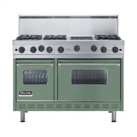 "Mint Julep 48"" Open Burner Range - VGIC (48"" wide, six burners 12"" wide char-grill)"
