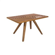 Teak Patio Coffee Table in Euro Teak Oil