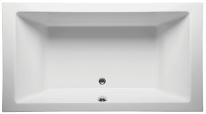 Center Drain Bathtub 66X40 - *OPEN BOX* 2x Available