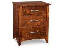Glengarry 3 Drawer Night Stand w/ Power Management