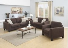 Brighton Chocolate Sofa, Loveseat, Chair & Sleeper, U3020