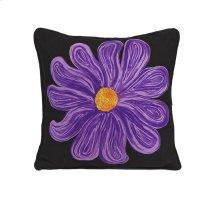 Purple Bloom Pillow
