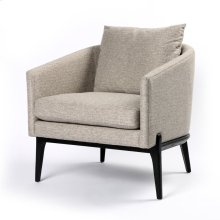 Orly Natural Cover Black Oak Finish Copeland Chair