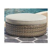 Ottoman with Cushion