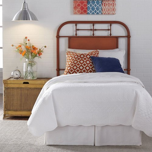 Full Metal Headboard - Orange