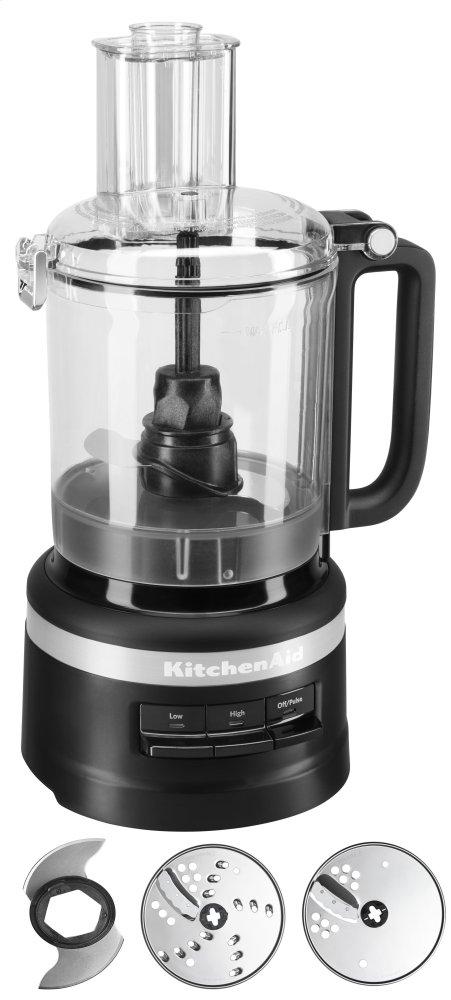 9 Cup Food Processor - Black Matte  BLACK MATTE