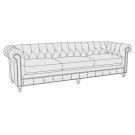 "London Club Sofa (92-1/2"") Product Image"