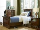 Panel Bed (Twin) - Classic Cherry Product Image