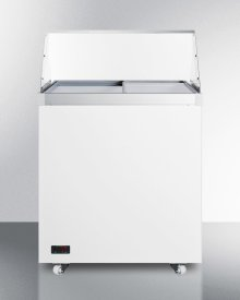 """29"""" Wide Dipping Cabinet With Polycarbonate Sneezeguard and Digital Thermostat"""