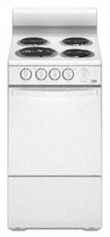 20 Standard Clean Freestanding Electric Coil Range