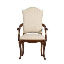 Arrondissement - Volute Arm Chair In Heirloom Cherry