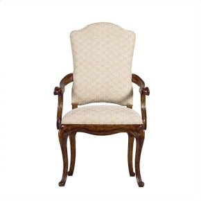Arrondissement - Volute Arm Chair In Heirloom Cherry