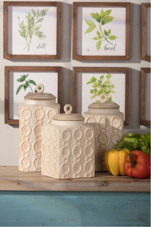Dreanna Canisters - Set of 3