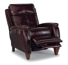Raleigh Leather Power High-Leg Recliner with Power Headrest