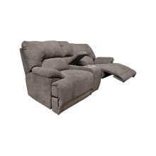 Davis Double Reclining Loveseat Console 68187PG