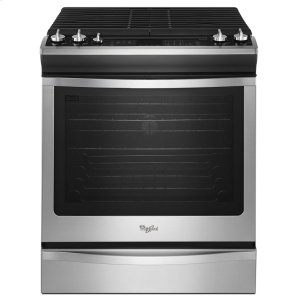 Whirlpool 5.8 Cu. Ft. Front-Control Gas Stove With Fan Convection