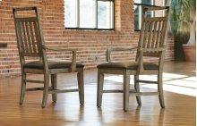 Metalworks Splat Back Arm Chair