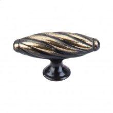 Versailles T-Handle 3 1/8 Inch - Dark Antique Brass