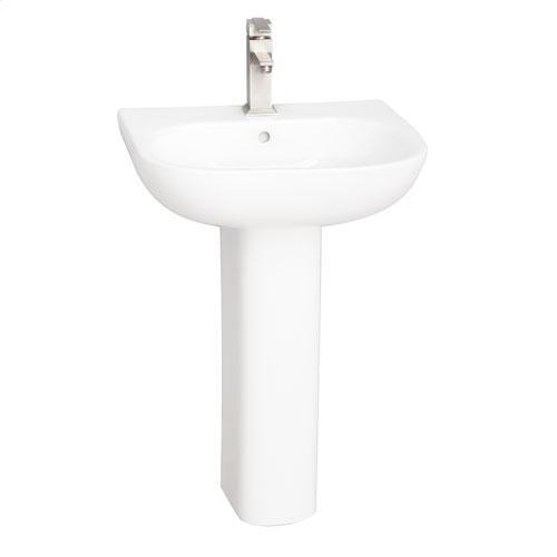 Tonique 550 Pedestal Lavatory - Single-Hole