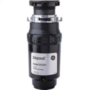 GE® 1/2 HP Continuous Feed Garbage Disposer - Non-Corded Product Image