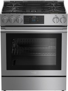 30 Inch Slide-In Gas Range