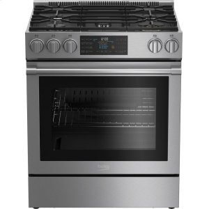 Beko30 Inch Slide-In Gas Range