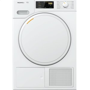 MieleT1 Classic heat-pump tumble dryer With FragranceDos for laundry that smells great.