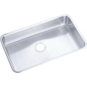 "Elkay Lustertone Classic Stainless Steel 30-1/2"" x 18-1/2"" x 4-7/8"", Single Bowl Undermount ADA Sink"