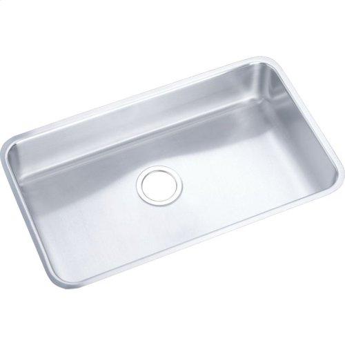 "Elkay Lustertone Classic Stainless Steel 30-1/2"" x 18-1/2"" x 5-3/8"", Single Bowl Undermount ADA Sink"