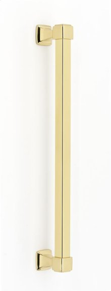 Cube Appliance Pull D985-12 - Polished Brass