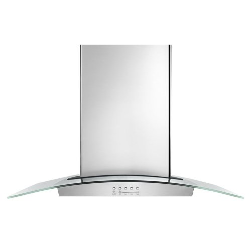 "36"" Modern Glass Wall Mount Range Hood"