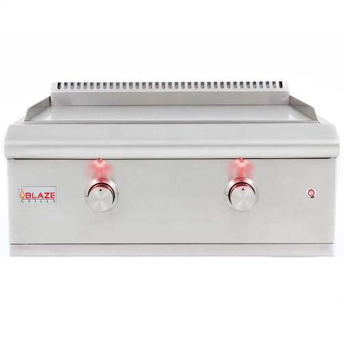 Blaze 30-Inch Built-in Gas Griddle LTE, With Fuel type - Propane