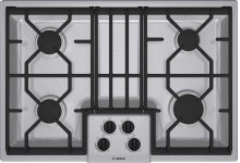 """30"""" Gas Cooktop 300 Series - Stainless Steel NGM3054UC"""