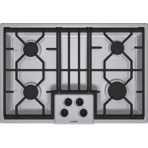"Bosch30"" Gas Cooktop 300 Series - Stainless Steel NGM3054UC"